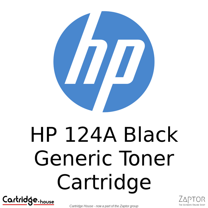 HP 124A Black Generic / Compatible Toner Cartridge (Q6000A)