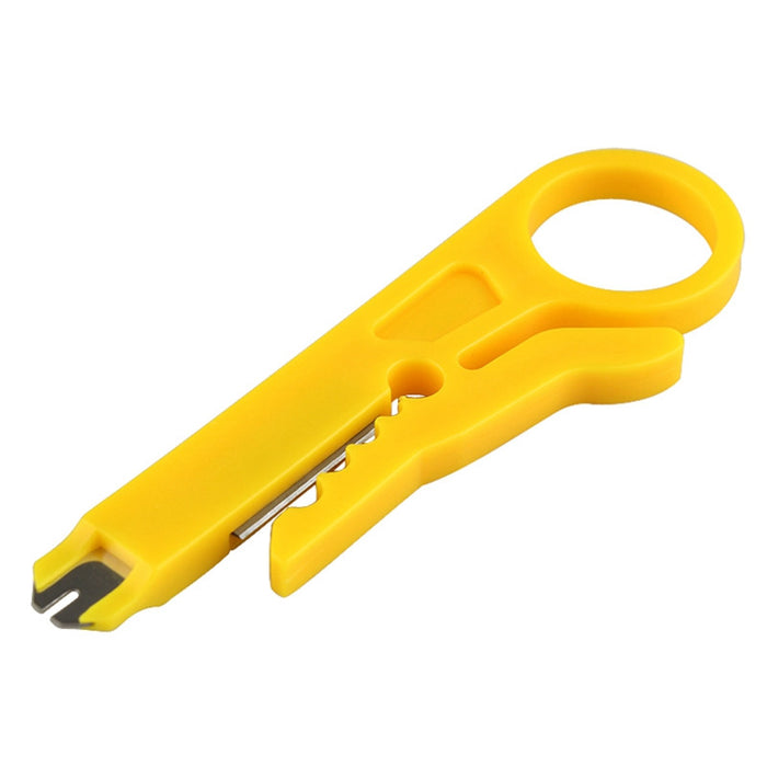 Network/Telephone Wire Stripper & Punch Down Tool