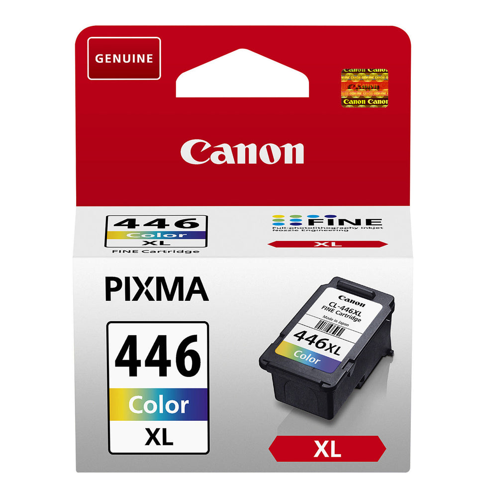 Canon CL-446XL Tri-Colour Original Ink Cartridge