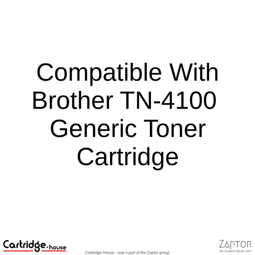 Compatible With Brother TN-640 / TN-670 / TN-4100 Toner Cartridge