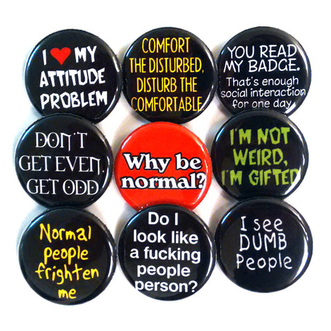 Anti-Social Button Set