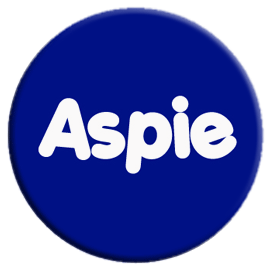 Aspie Button