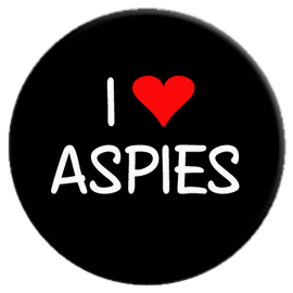 I Love Aspies Button