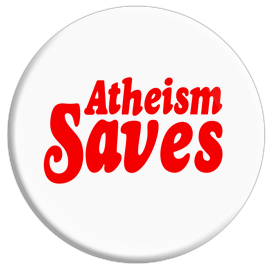 Atheism Saves Button