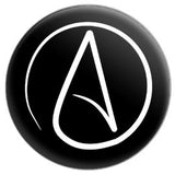 Atheist Symbol Button