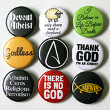 Atheist Button Set