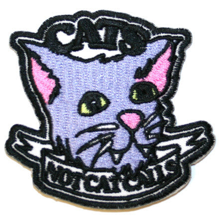 Cats Not Cat Calls Patch