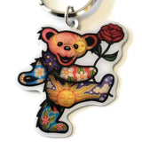 Grateful Dead Dancing Bear Key Ring