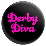 Derby Diva Button