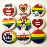 Marriage Equality Button Set