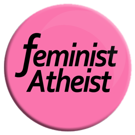 Feminist Atheist Button