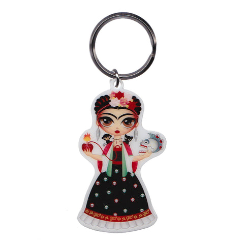 Frida Kahlo Key Ring