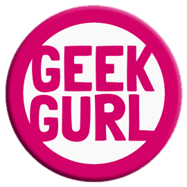 Geek Gurl Button
