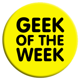Geek of the Week Button