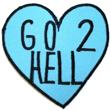 Go 2 Hell Heart Patch