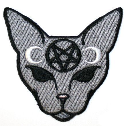 Goth Cat Patch