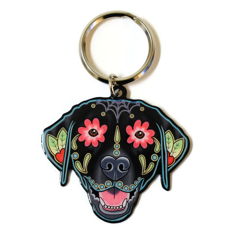 Labrador Dog Key Ring