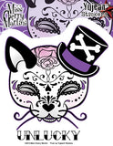 Top Hat Cat Sticker