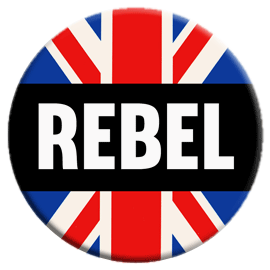 Mod Rebel Button
