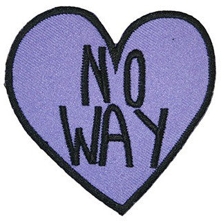 No Way Heart Patch