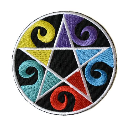 Pentragram Colour Patch