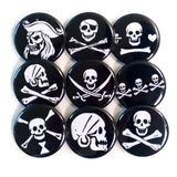 Jolly Roger Button Set