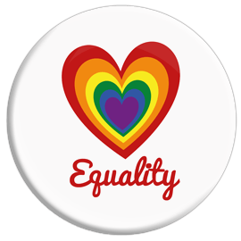 Love Equality Button