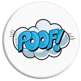 Poof! Button