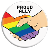 Proud Ally Button