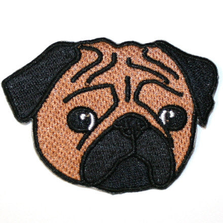 Pug Face Patch