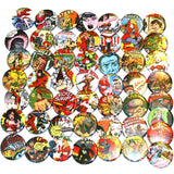 Retro Comics Button Lot x50