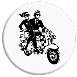 Ska Scooter Button
