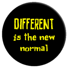 Different is the New Normal Button