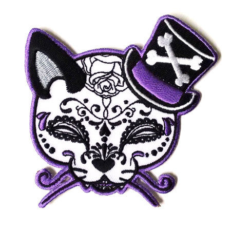 Top Hat Cat Patch