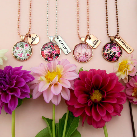 Sister & Soul Charm Necklaces Collection