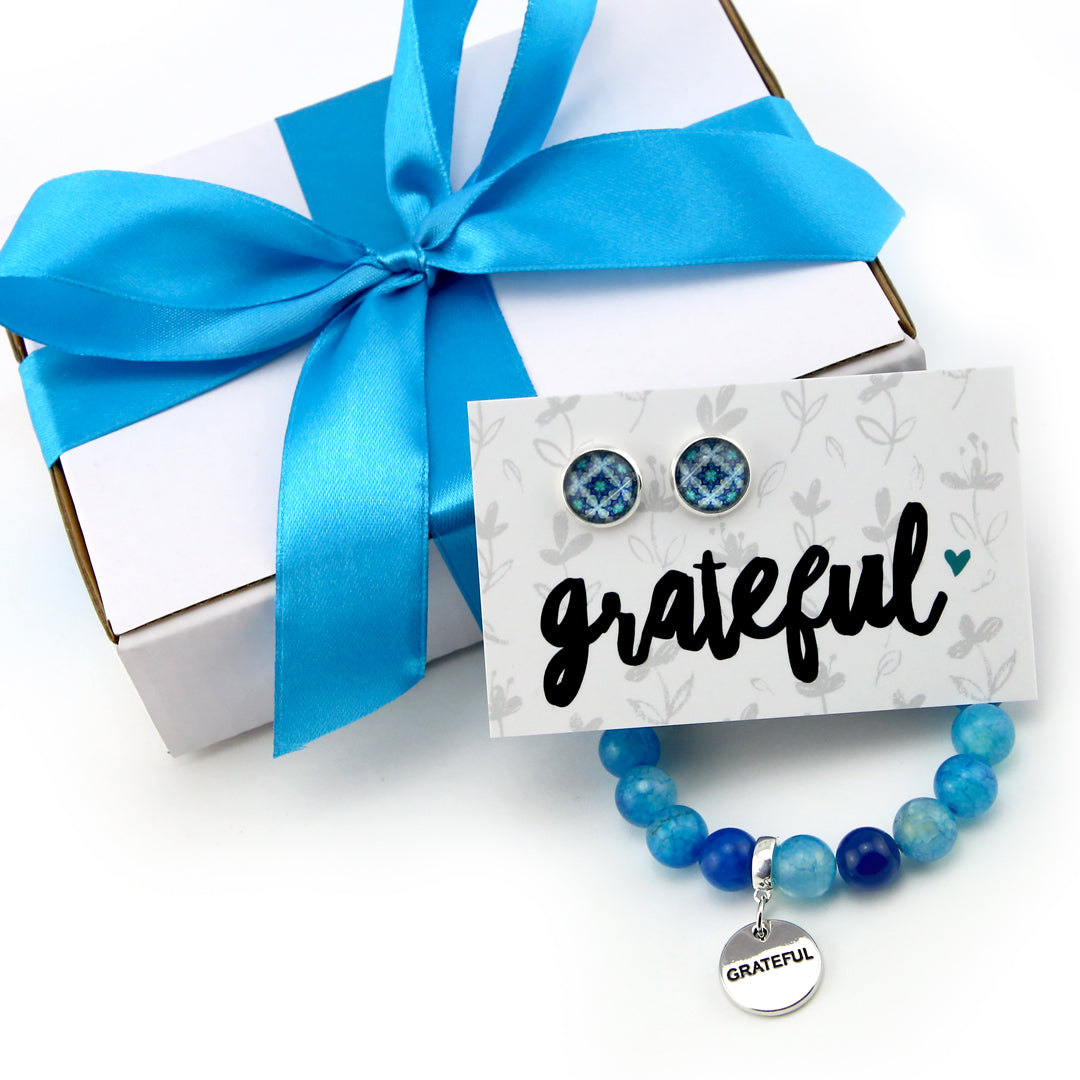 Get Your Grateful On! Little Blue GRATEFUL Gift Bundle (S21)