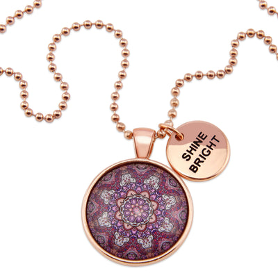 BOHO Collection - Rose Gold 'SHINE BRIGHT' Necklace - Daybreak (10123-A)