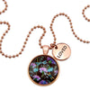 Wildflower Collection - Rose Gold 'LOVED' Necklace - Dragonfly Grove (11034-A)