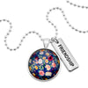 Heart & Soul Collection - Bright Silver ' FRIENDSHIP ' Necklace - Florabelle (10953)
