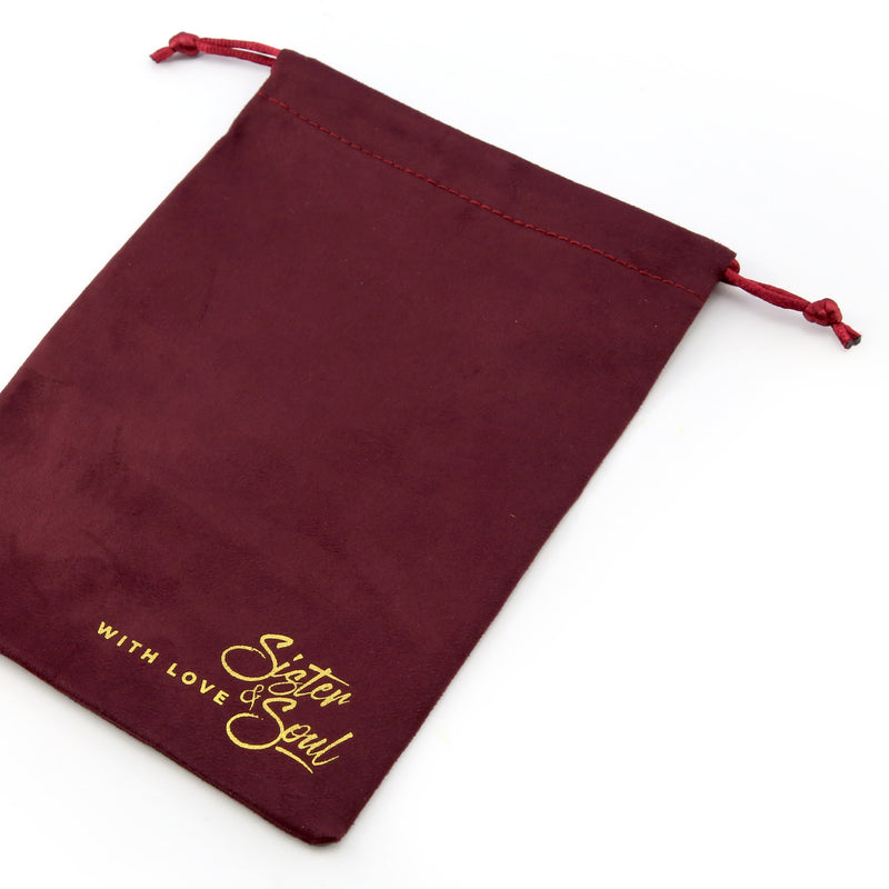 Sister & Soul Garnet Flannel Velour Gift Bag - Create Your Own Bundle