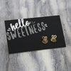 Hello Sweetness! Bumble Bee Earring Studs (9812)