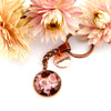 PINK COLLECTION - Vintage Rose Gold 'CHERISH' Keyring - Rosie (10534)