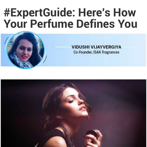 How your perfume defines you