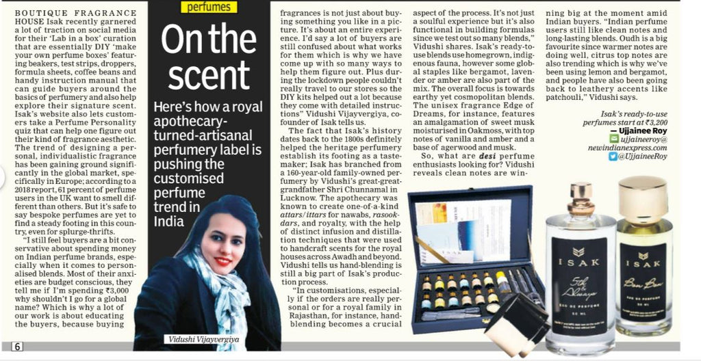 royal apothecary customised perfumery trend in India