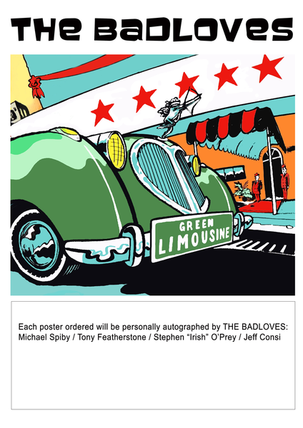 Green Limousine Poster (Autographed)