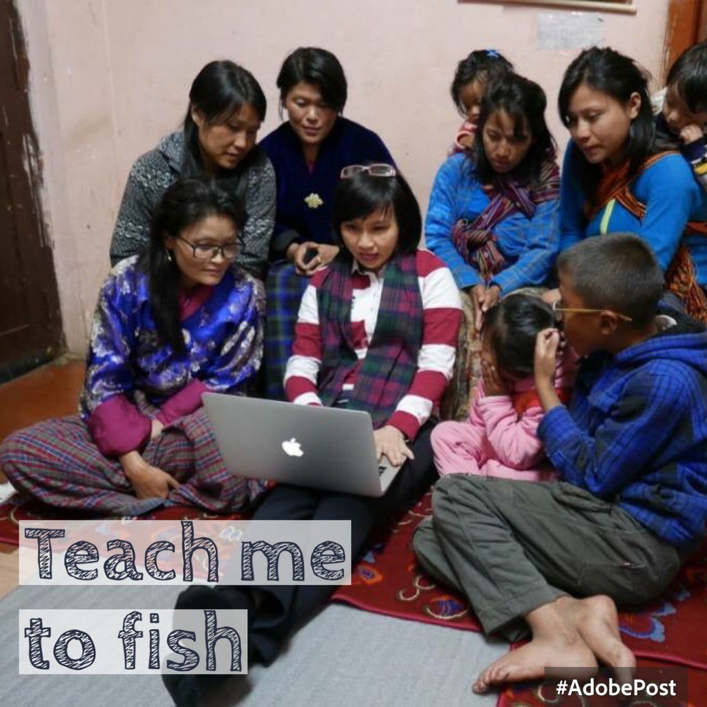 Teach me to fish - the story of Bhutan weavers who yearns for financial independence