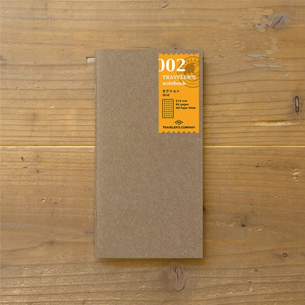 Traveler's Notebook Refill 002 - Grid Regular Size