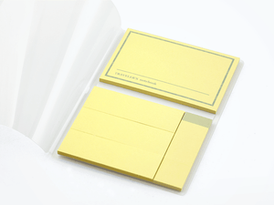 Passport size Refill 012 - Sticky Notes
