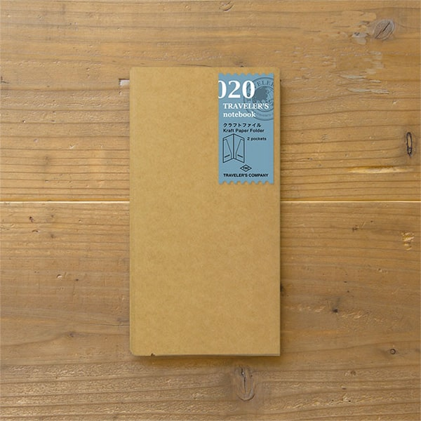 Traveler's Notebook Refill 020 - Kraft File Regular Size