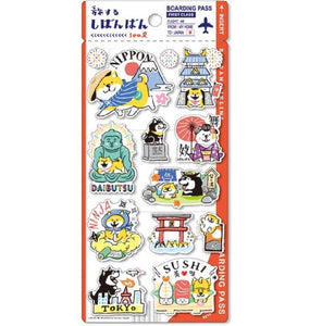 Mind Wave Shibanban Nippon Sticker
